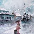 Leaving... by Faruk Koksal