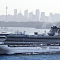 Diamond Princess Leaving Sydney by Miroslava Jurcik