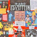 Led Zeppelin Color Collage by Donna Wilson