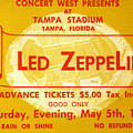 Led Zeppelin Ticket by David Lee Thompson