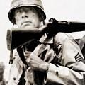 Lee Marvin, Vintage Actor by John Springfield