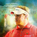 Lee Westwood Winning The Portugal Masters 2009 by Miki De Goodaboom