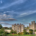 Leeds Castle And Moat Rear View by Chris Thaxter