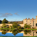 Leeds Castle And Moat Reflections by Chris Thaxter