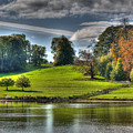 Leeds Castle Lake View by Chris Thaxter