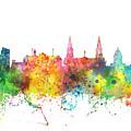 Leeds England Skyline by Marlene Watson
