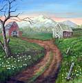 Left Behind - The Old Homestead by SueEllen Cowan
