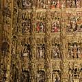 Left Half - The Golden Retablo Mayor - Cathedral Of Seville - Seville Spain by Jon Berghoff
