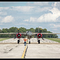 Left Turn - B-25 by Jack R Perry