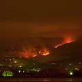 Lefthand Canyon Wildfire Night Time View by James BO Insogna