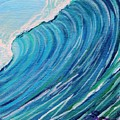 Lefthand Wall Of Water by Suzanne MacAdam