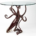 Legend Table by Kirk McGuire Bronze Sculpture