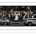 Legends Of Hollywood Poster by Mike Nellums