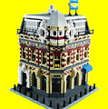 Lego Corner Shop And Apartments by Brian Lyles
