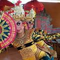 Legong Dancer by Sulendra Wayan
