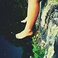 Legs Over Water by Miss Elizabeth Photography
