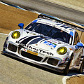 Leh Keen And Cooper Macneil Porche 911 Tudor Championship by Blake Richards