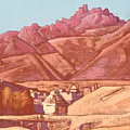 Leh, Ladakh by Nicholas Roerich