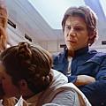 Leia Kisses Luke by Mitch Boyce