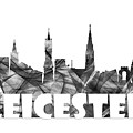 Leicester England Skyline by Marlene Watson