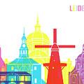 Leiden Skyline Pop by Pablo Romero