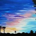 Lejeune Sunset by Danya Ozmore