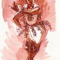 Lelei, Dancer Of Tonga by Judith Kunzle