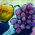 Lemon And Grapes by Angelina Marino
