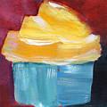 Lemon Cupcake- Art By Linda Woods by Linda Woods