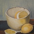 Lemon In A Bowl by Vesna Antic