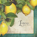 Lemon Tree - Limone Citrus Medica by Audrey Jeanne Roberts