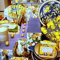 Lemons And Blue by Jacqueline Manos
