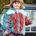 Lena At 3 by John Huntsman
