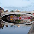 Lendal Bridge Reflection  by Shanna Hyatt
