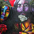Lennon And Ono by Mike Burgquist