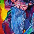 Lennon In Repose by David Lloyd Glover
