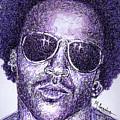 Lenny Kravitz by Maria Arango