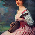 Lenoir Charles La Mandoline by PixBreak Art