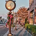 Lenoir City Clock by Sharon Popek