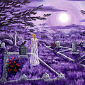 Lenore In Lavender Moonlight by Laura Iverson