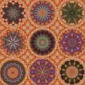 Lentil Purple Cauliflower Medallions by Karen Hochman Brown