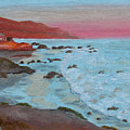Leo Carillo Beach Afternoon II by Cathy Gibbons