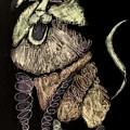 Leo, Rampant -- Negative Sepia by Jayne Somogy
