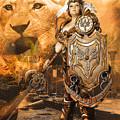 Leona Lioness Warrior  by Gela Ghaderi