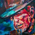 Leonard Cohen by Dima Mogilevsky