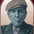 Leonard Cohen by Jovana Kolic