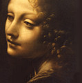 Leonardo- Angel From The Madonna Of The Rocks by Paul Herman