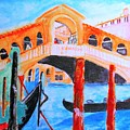 Leonardo Festival Of Venice by Stanley Morganstein