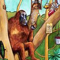 Leonardo The Orangutan by Robert Lacy