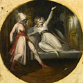 Leonore Discovering The Dagger Left By Alonzo by Henry Fuseli